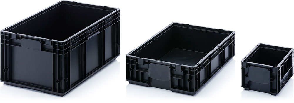 AUER Packaging ESD-R-KLT boxes Title image