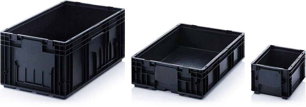 AUER Packaging ESD-RL-KLT boxes Title image