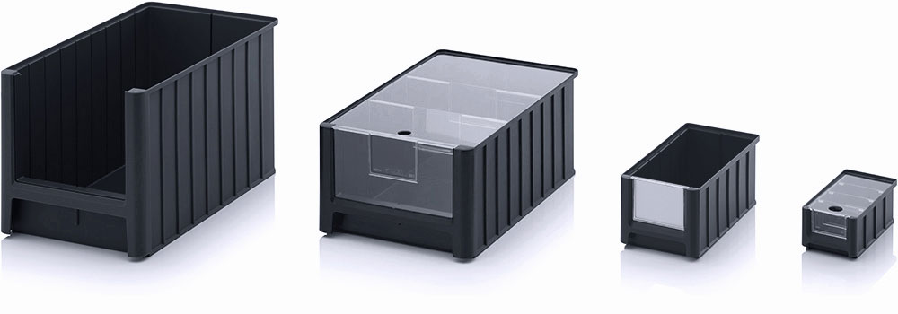 AUER Packaging ESD storage boxes with open front SK Title image