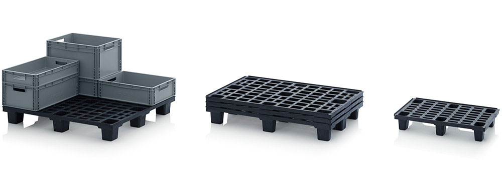 AUER Packaging Lightweight pallets without retaining edge Title image
