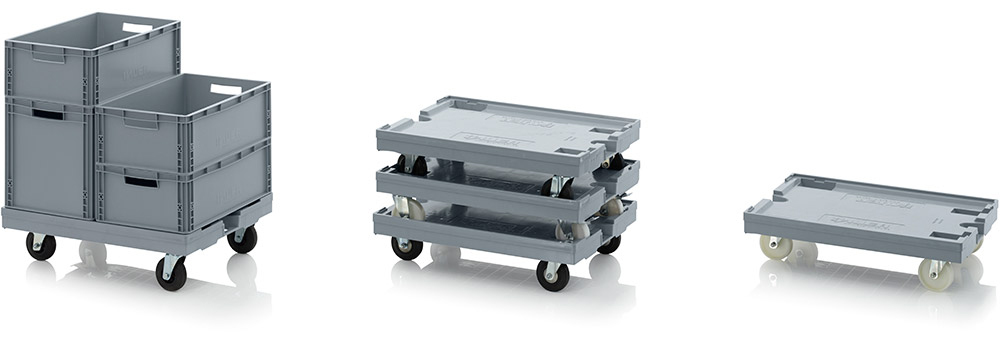 AUER Packaging Maxi transport trolley Title image