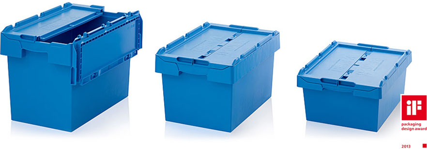 AUER Packaging Reusable containers with lid Title image