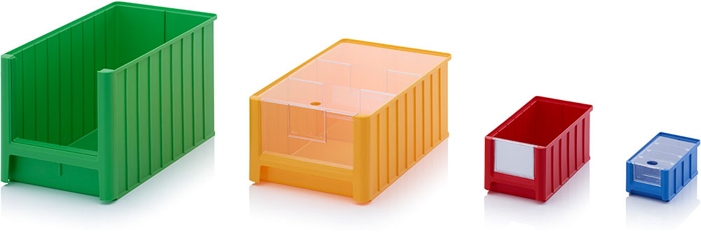 AUER Packaging Storage boxes with open front SK Title image