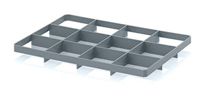 Box inserts for 60 x 40 cm Euro containers