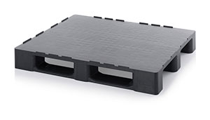 Cleanroom pallets made from reclaimed material with retaining edge B-stock Category image