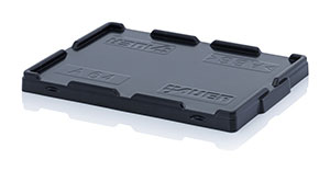 AUER Packaging Clip-on lid for Euro containers Title image