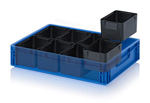 ESD insertable bins for ESD Euro containers Category image