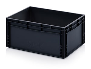 AUER Packaging ESD stackable containers