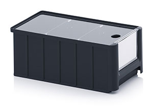 ESD storage boxes with open front Category image