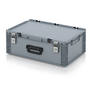 AUER Packaging Euro container cases with locking system