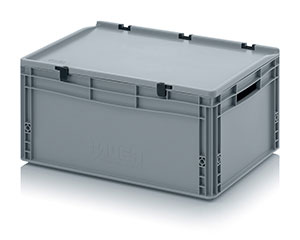 Euro containers with hinge lid Category image