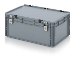 AUER Packaging Euro containers with locking system