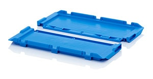 Hinged lids for reusable containers Category image