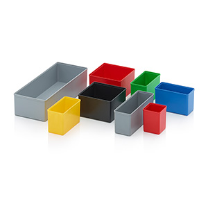 AUER Packaging Insertable bins for assortment boxes
