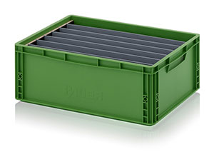Longitudinal dividers for Euro containers Category image