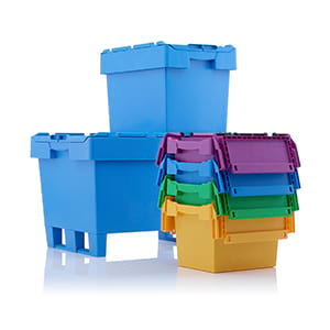 Space-saving containers