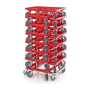 AUER Packaging Stacking trolleys