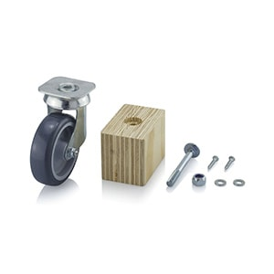 AUER Packaging Wheels for heavy load containers Title image