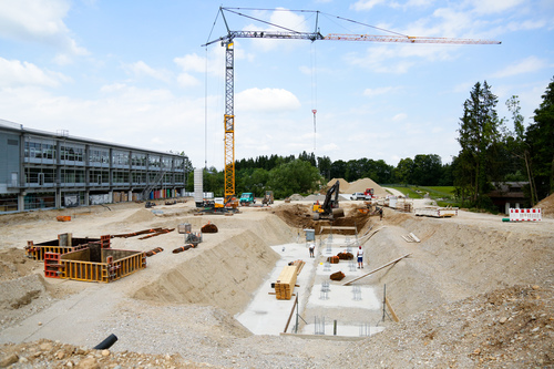 AUER Packaging Construction of third production hall under way