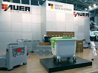 AUER Packaging Nya produkter på IFAT 2010
