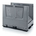 AUER Packaging Collapsible big boxes with ventilation slits KLO 1208K Preview image 3