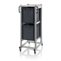 AUER Packaging ESD system trolleys for Euro containers Height 134 cm ESD SE 134 6442 Preview image 1