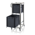 AUER Packaging ESD system trolleys for Euro containers Height 134 cm ESD SE 134 6442 Preview image 2