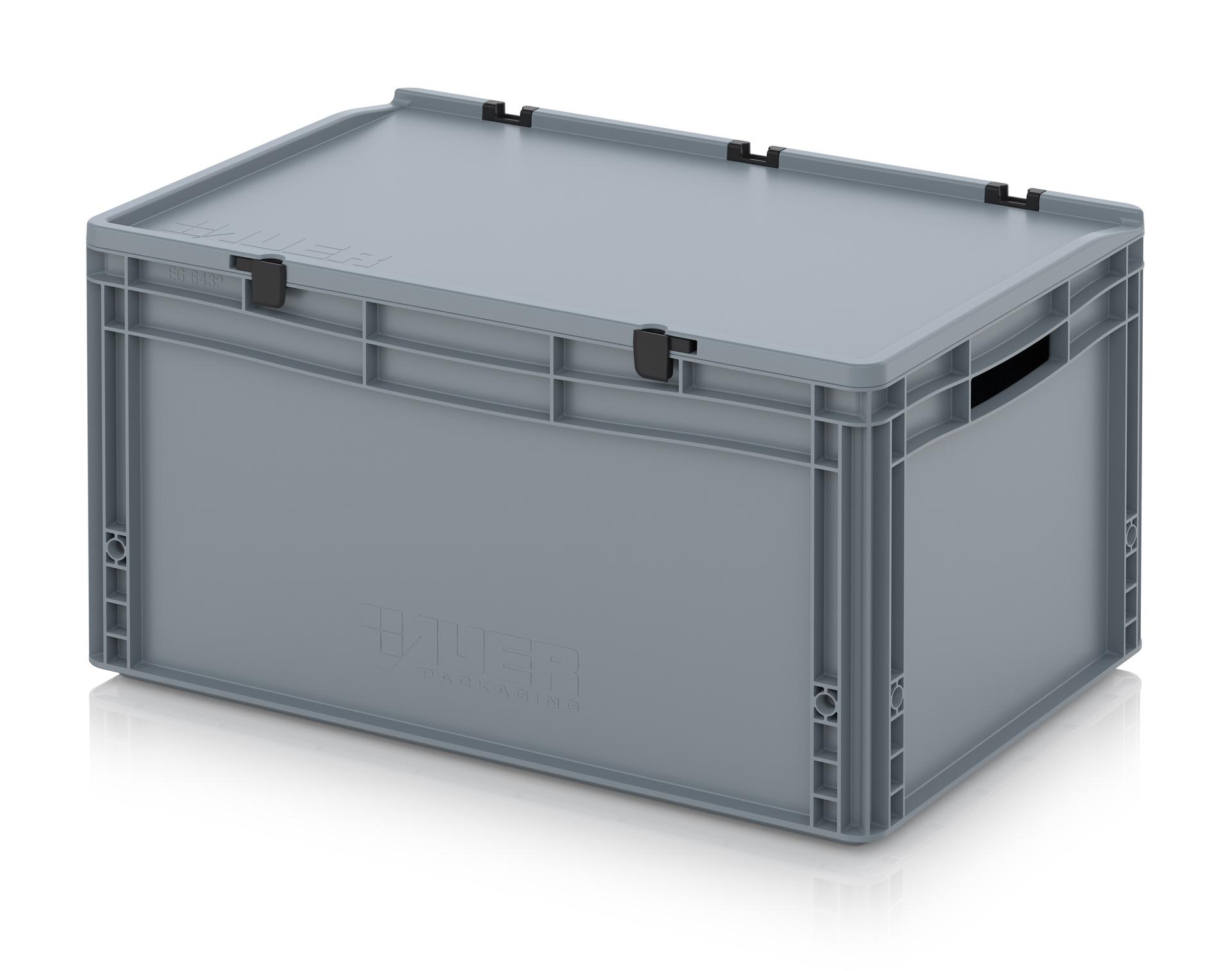 Contenitori in plastica con coperchio pompa depressione - Ikea scatole plastica trasparente ...