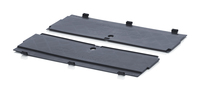 ESD hinged lid for foldable boxes<br><small>ESD FB DE 64</small>