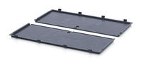 ESD hinged lid for foldable boxes<br><small>ESD FB DE 86</small>