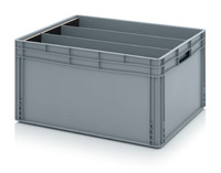 Longitudinal dividers for Euro containers<br><small>LT GEF 86</small>