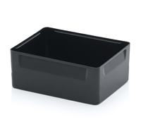 Insertable bins 2 crosswise compartments<br><small>EK 2/100 43</small>