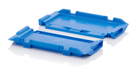 Hinged lids for reusable containers<br><small>MB DE 43</small>