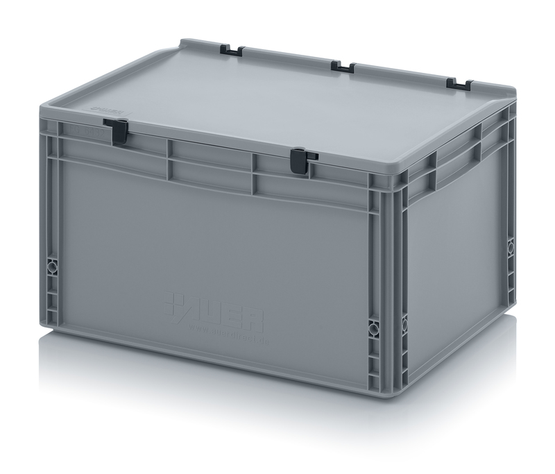 AUER Packaging Euro containers with hinge lid ED 64/32 HG