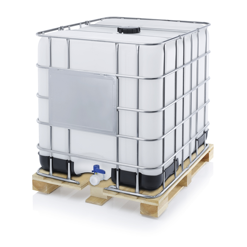 AUER Packaging IBC Container mit Holzpalette IBC 1000 H 225.80-UN