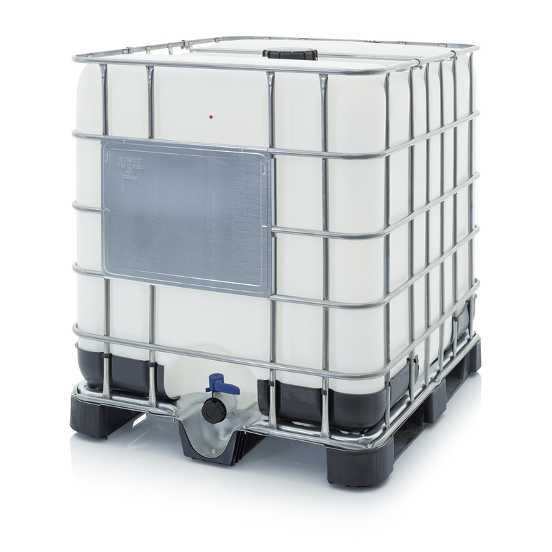 AUER Packaging IBC Container mit Kunststoffpalette IBC 1000 K 150.50-UN