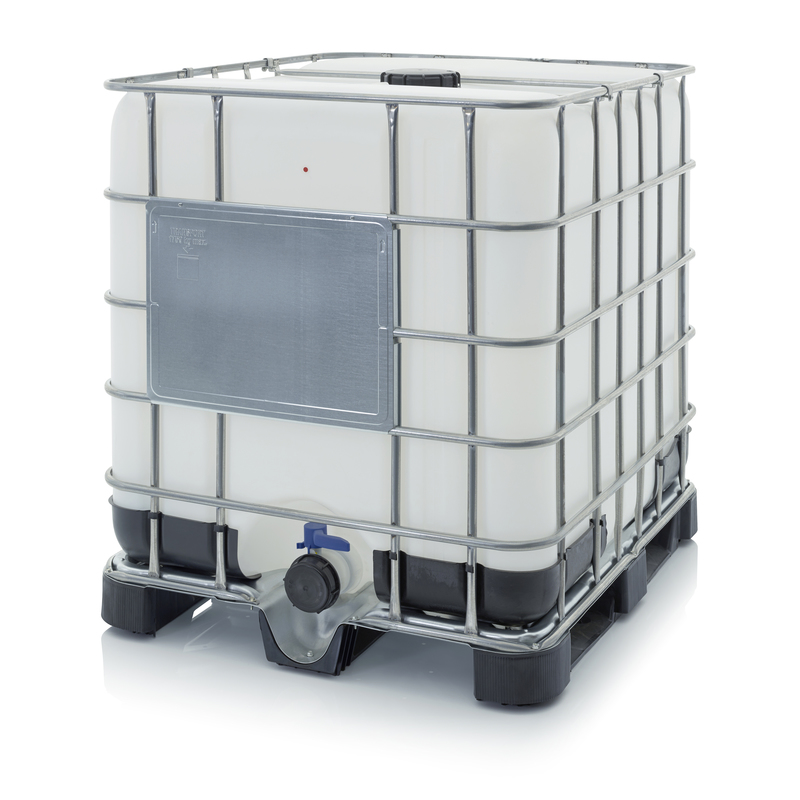 AUER Packaging IBC Container mit Kunststoffpalette IBC 1000 K 150.80-UN
