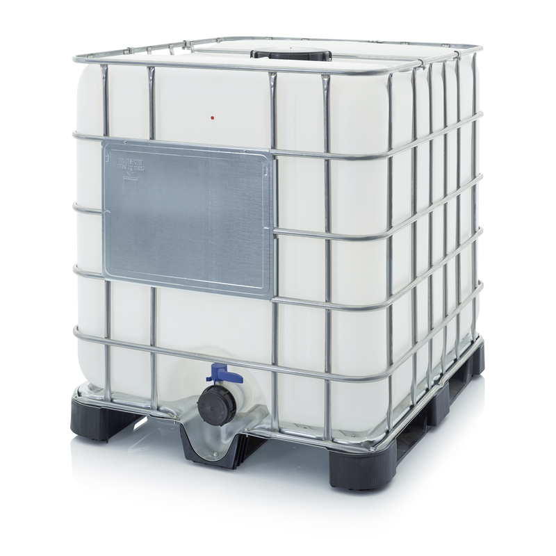 AUER Packaging IBC containers with plastic pallet IBC 1000 K 225.80