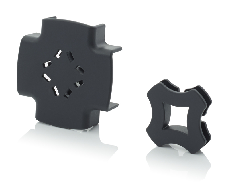 AUER Packaging Shelf connectors 4-way connector set