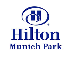 Logotipo hilton munich city